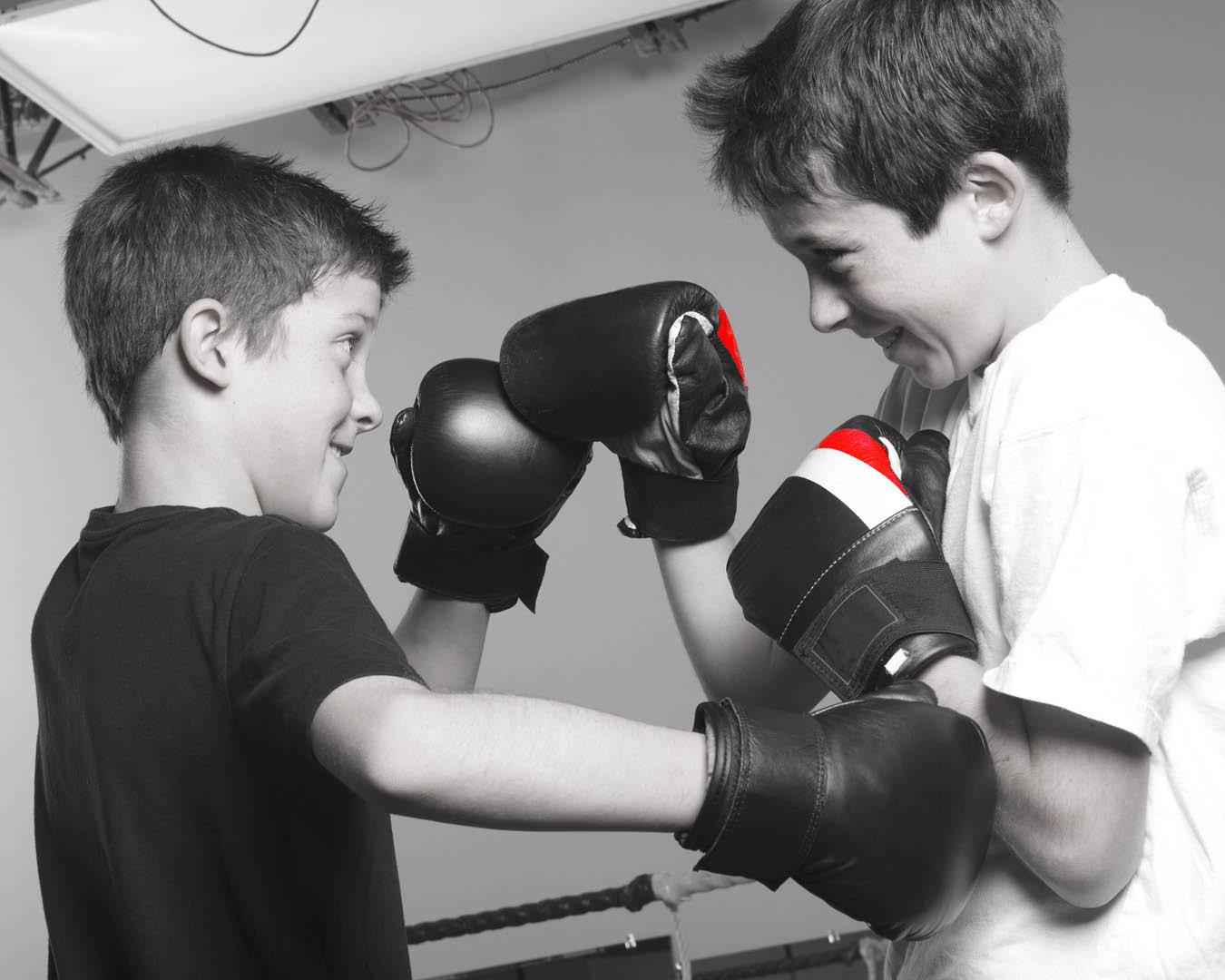 Boxen Schüler